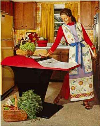 Denne reklamen viser at Honeywell H316 blender godt inn i ethvert kjøkken. Foto: Wikimedia
