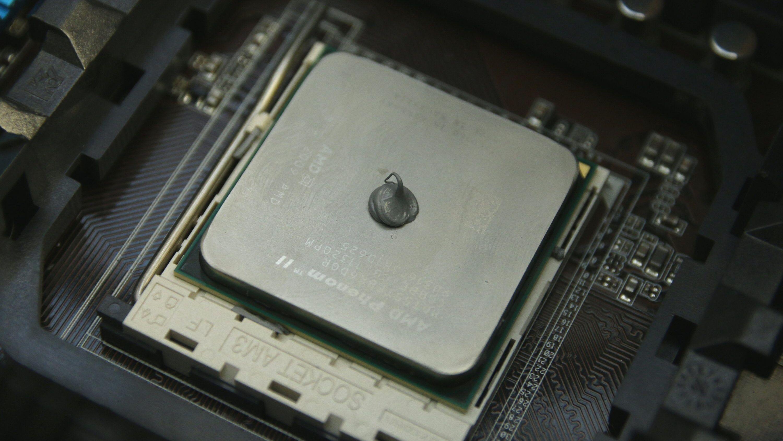 Kan en klatt gi oss en kjøligere prosessor?