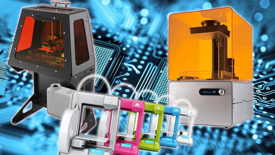 3D-printere har hatt sitt gjennomslag dette året.