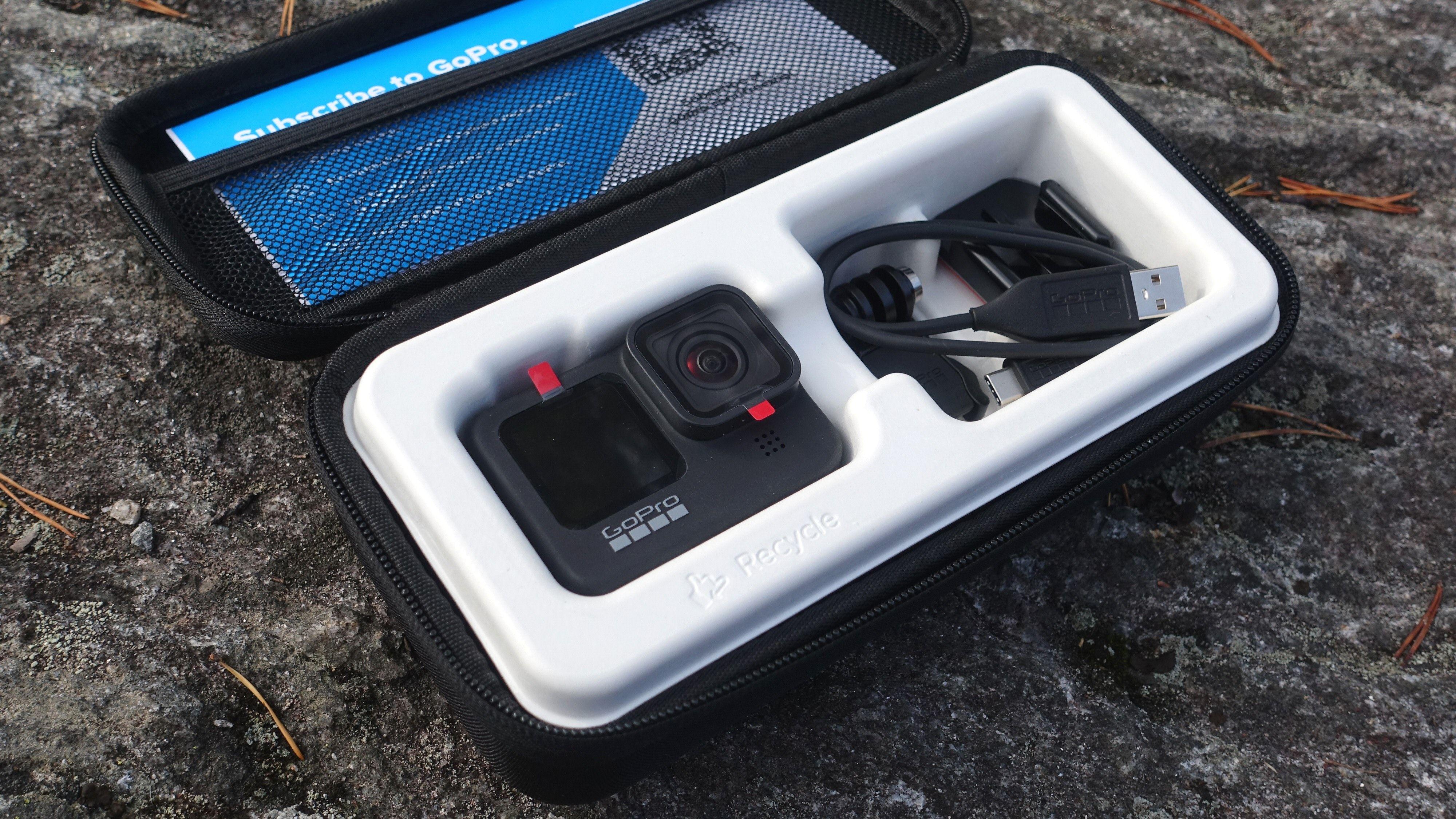 GoPro Hero9 Black kommer nå i en mer praktisk og miljøvennlig innpakning.