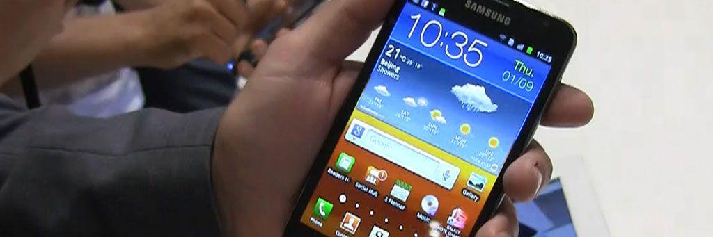 – Samsungs telefoner får Android 4.1