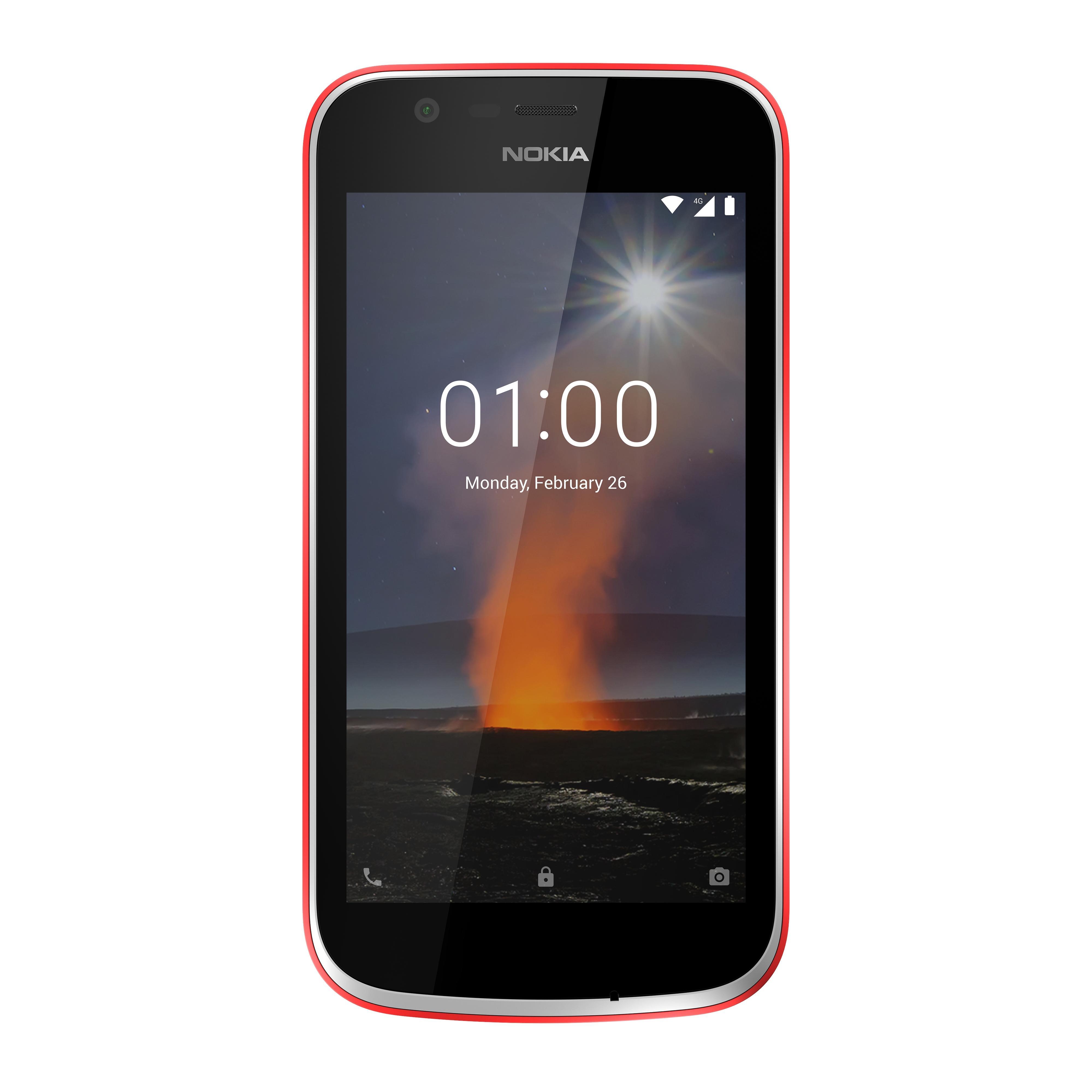 Nokia 1 er en av de aller første modellene i det nye Android Go-programmet. Serien skal sørge for enkle, billige og raske telefoner.