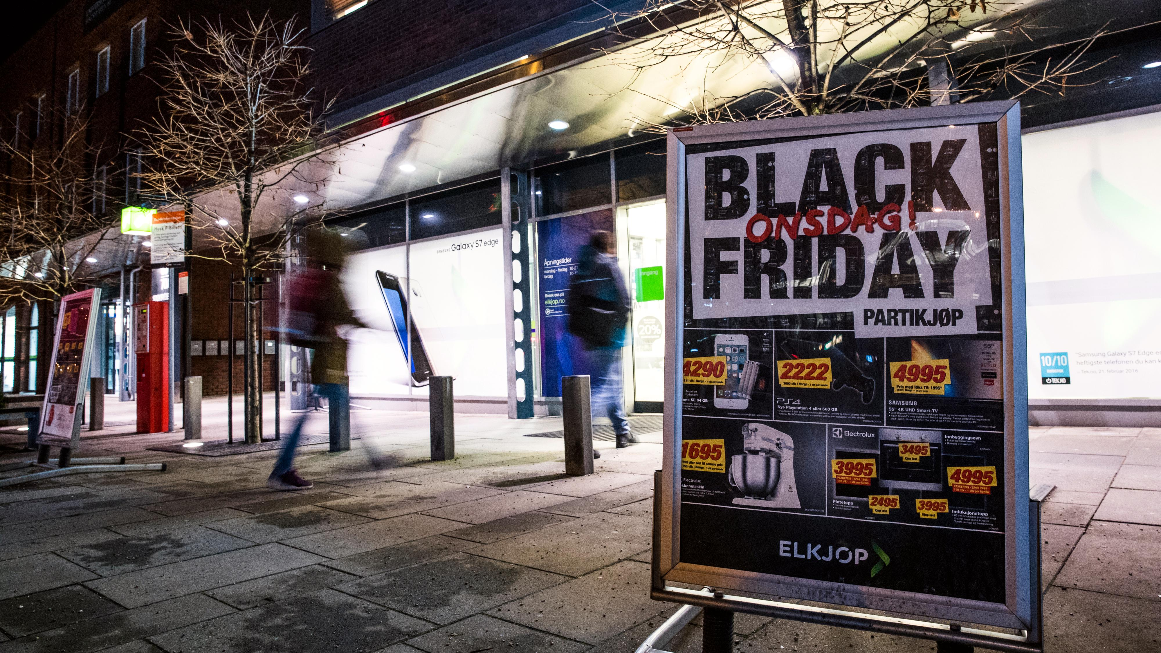 I fjor brukte norske shoppere 2,5 millioner kroner i minuttet på Black Friday. I år blir det enda mer.
