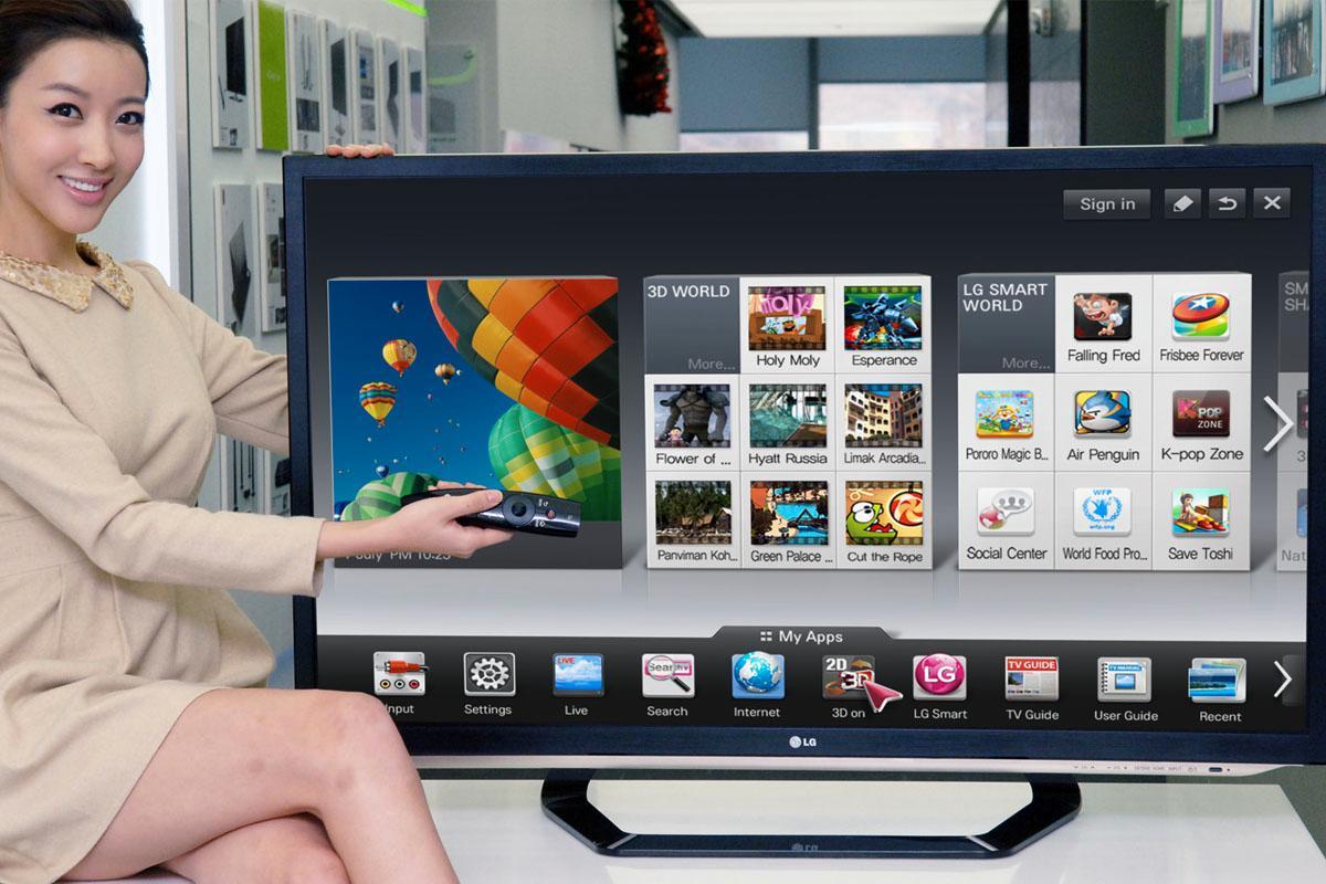 Applikasjoner og hjemmeskjermer er ord vi vanligvis hører når man snakker om mobiler. I 2012 vil dette bli TV-ord i tillegg.
