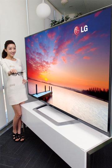 84-tommeren til LG har en oppløsning på hele 3840×2160 - fire ganger så mye som dagens HD-skjermer.