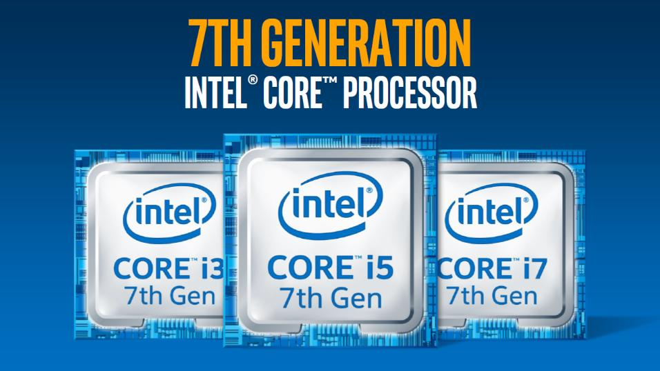 Kaby Lake-familien.