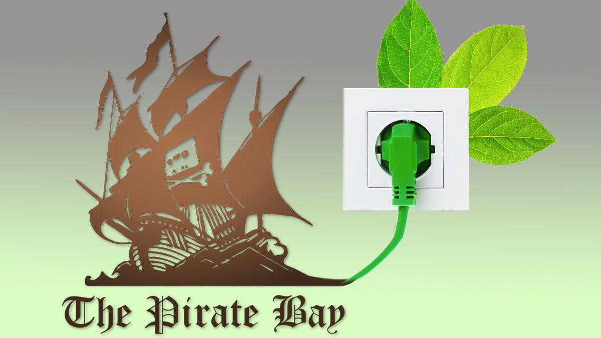 The Pirate Bay blir grønnere