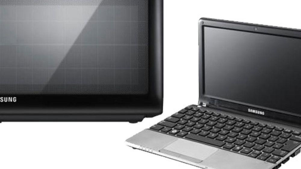 Samsung-laptop går på solenergi