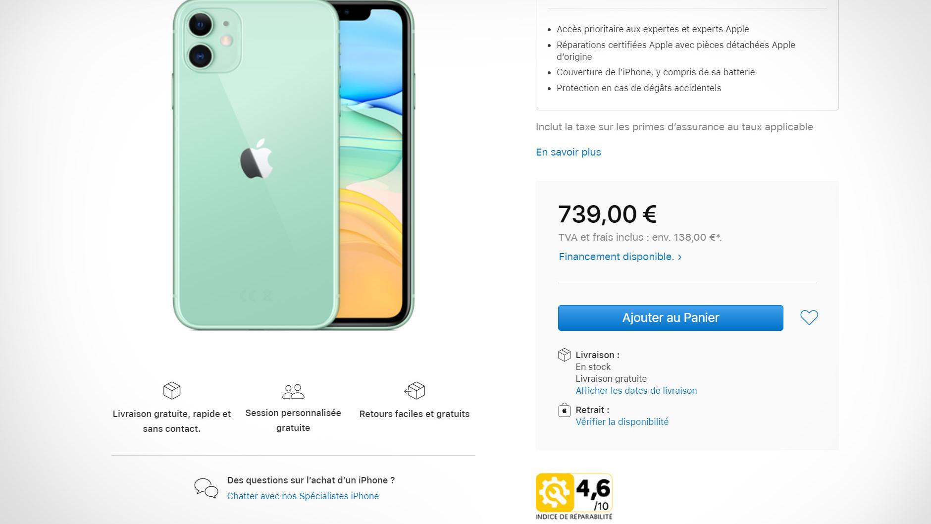Slik tvinges Apple til å markedsføre iPhone i Frankrike
