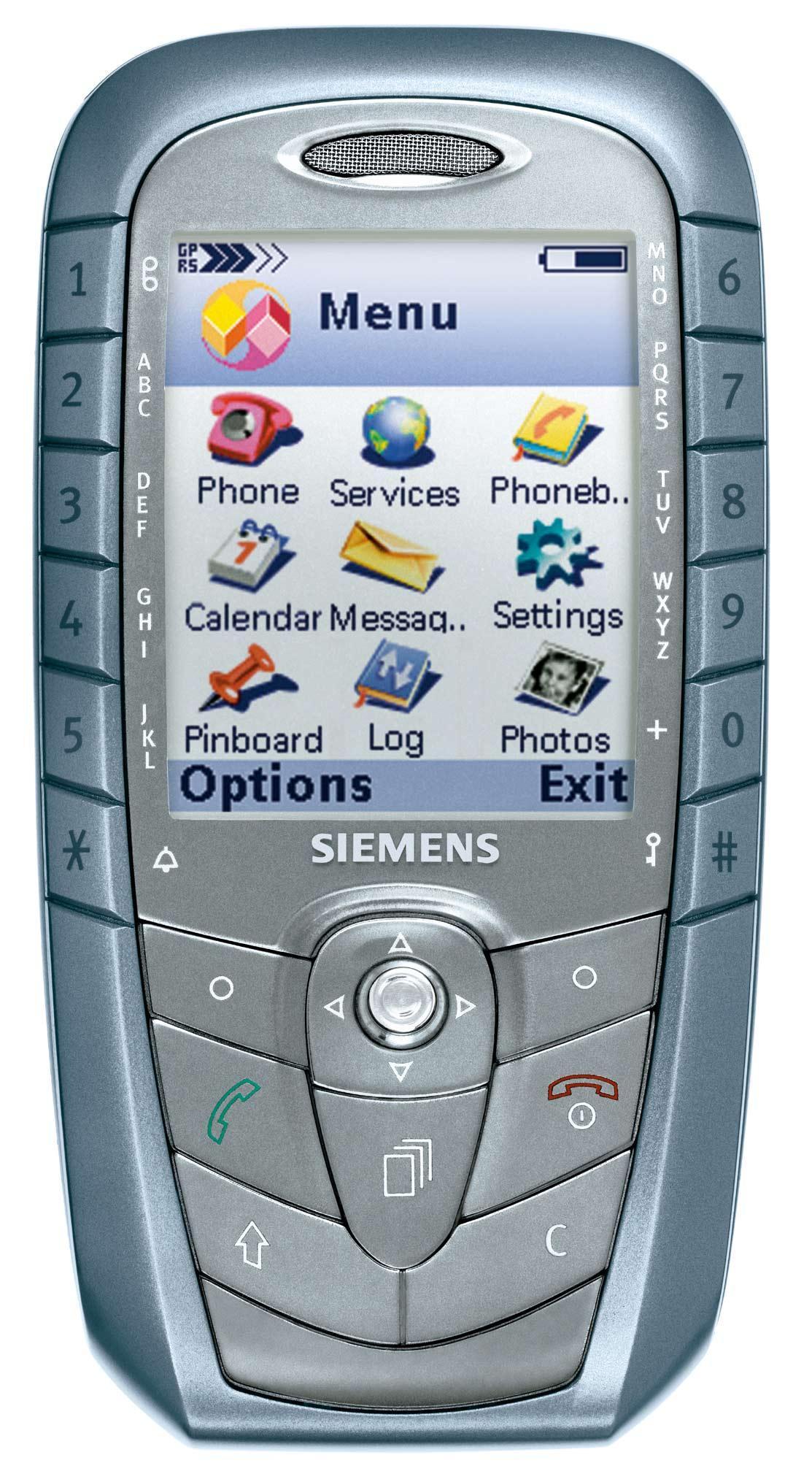 Siemens sx1 er en symbianmobil, men huskes nok best for de uortodokse tastene langs skjermen.