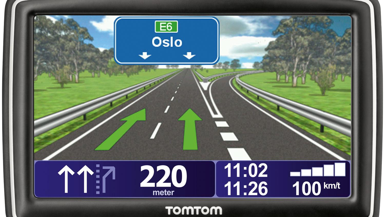 Tomtom XXL IQ Routes