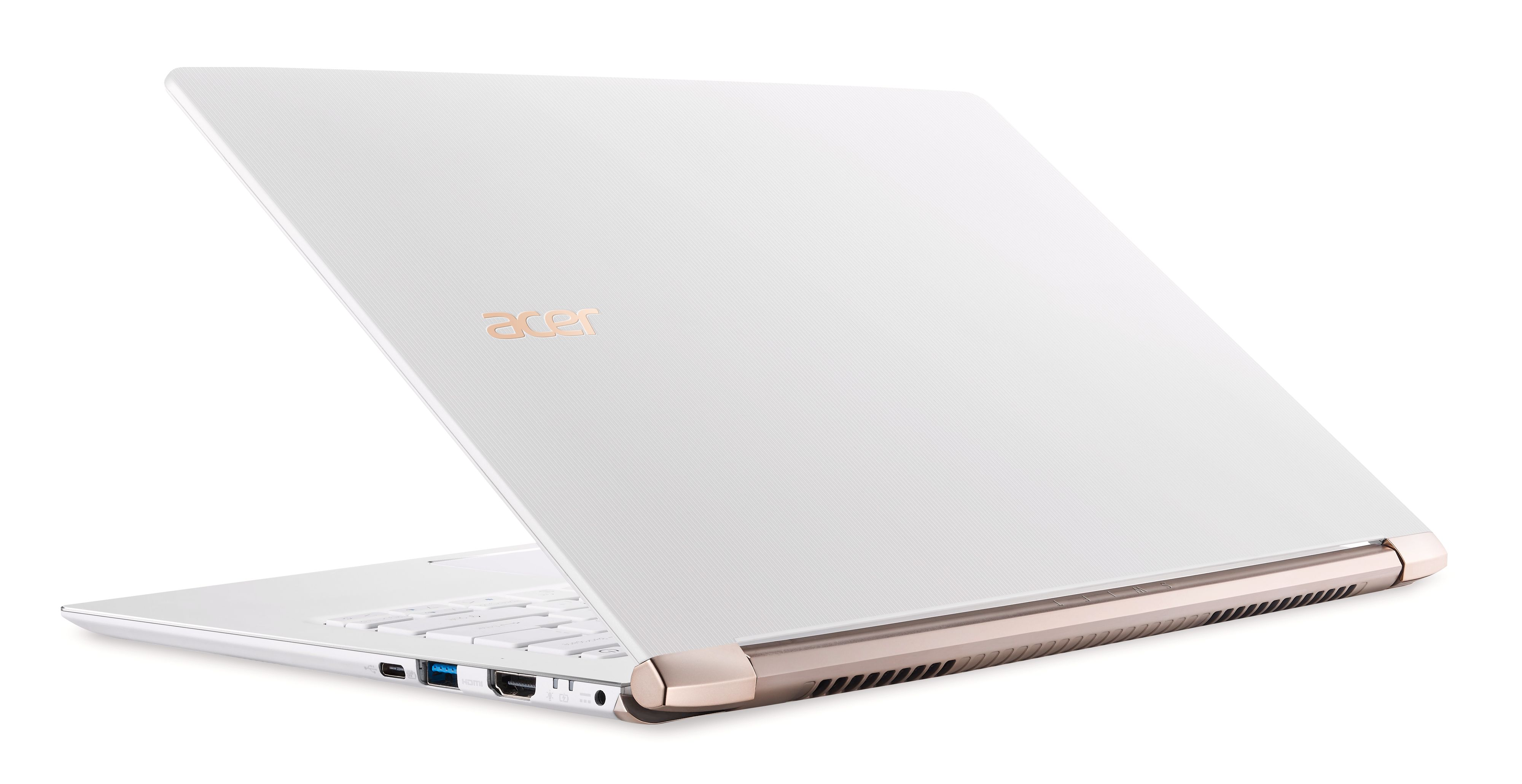 Acer Swift 5 i hvit.