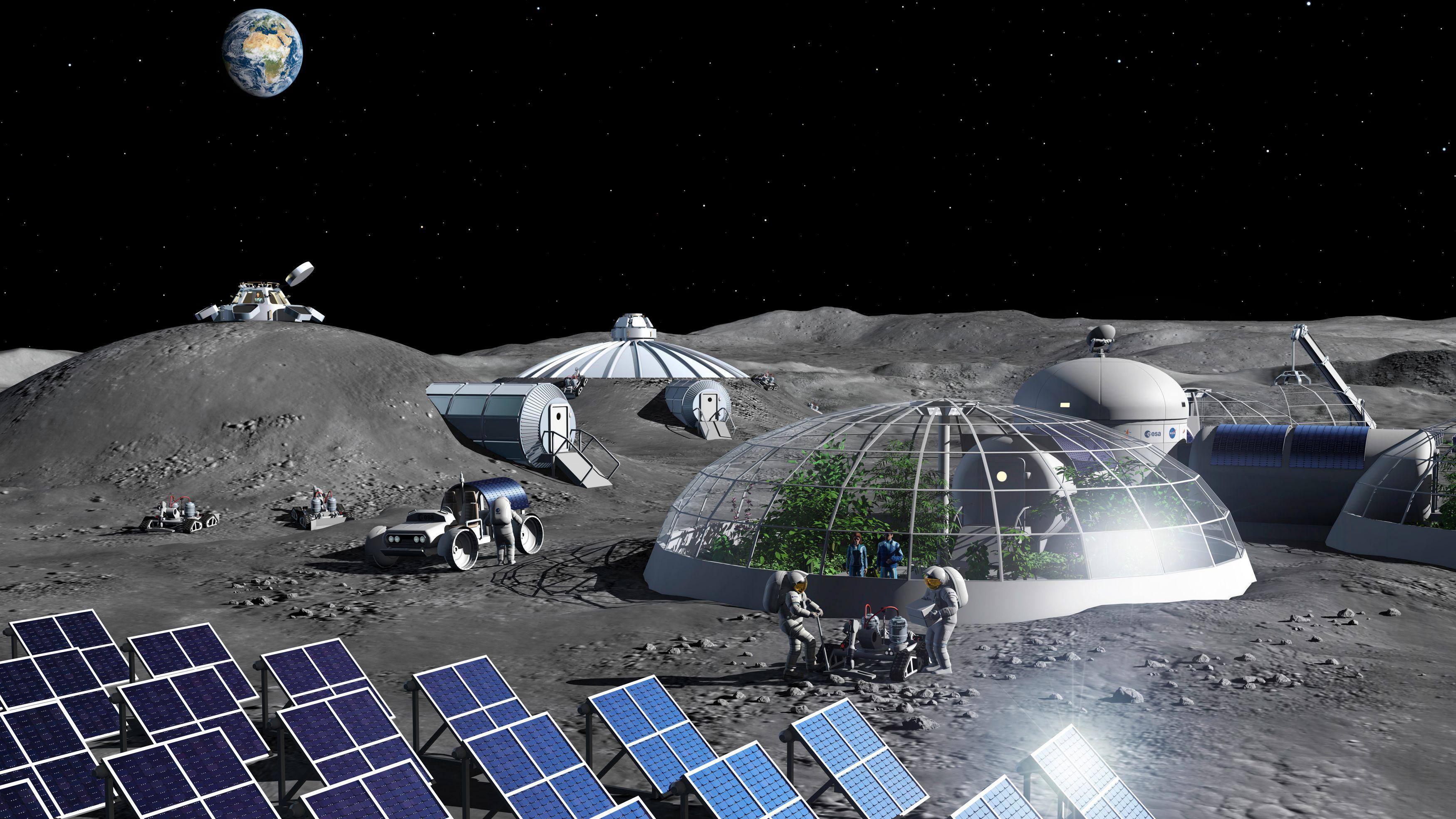 Utvinner oksygen fra månestøv