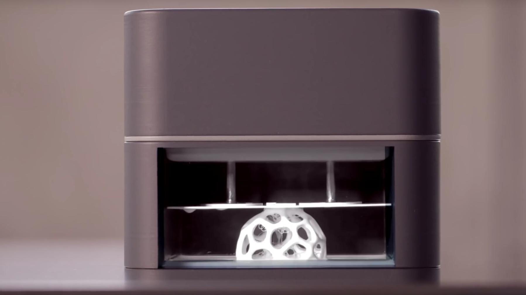 Denne lar deg bruke mobilen som 3D-skriver