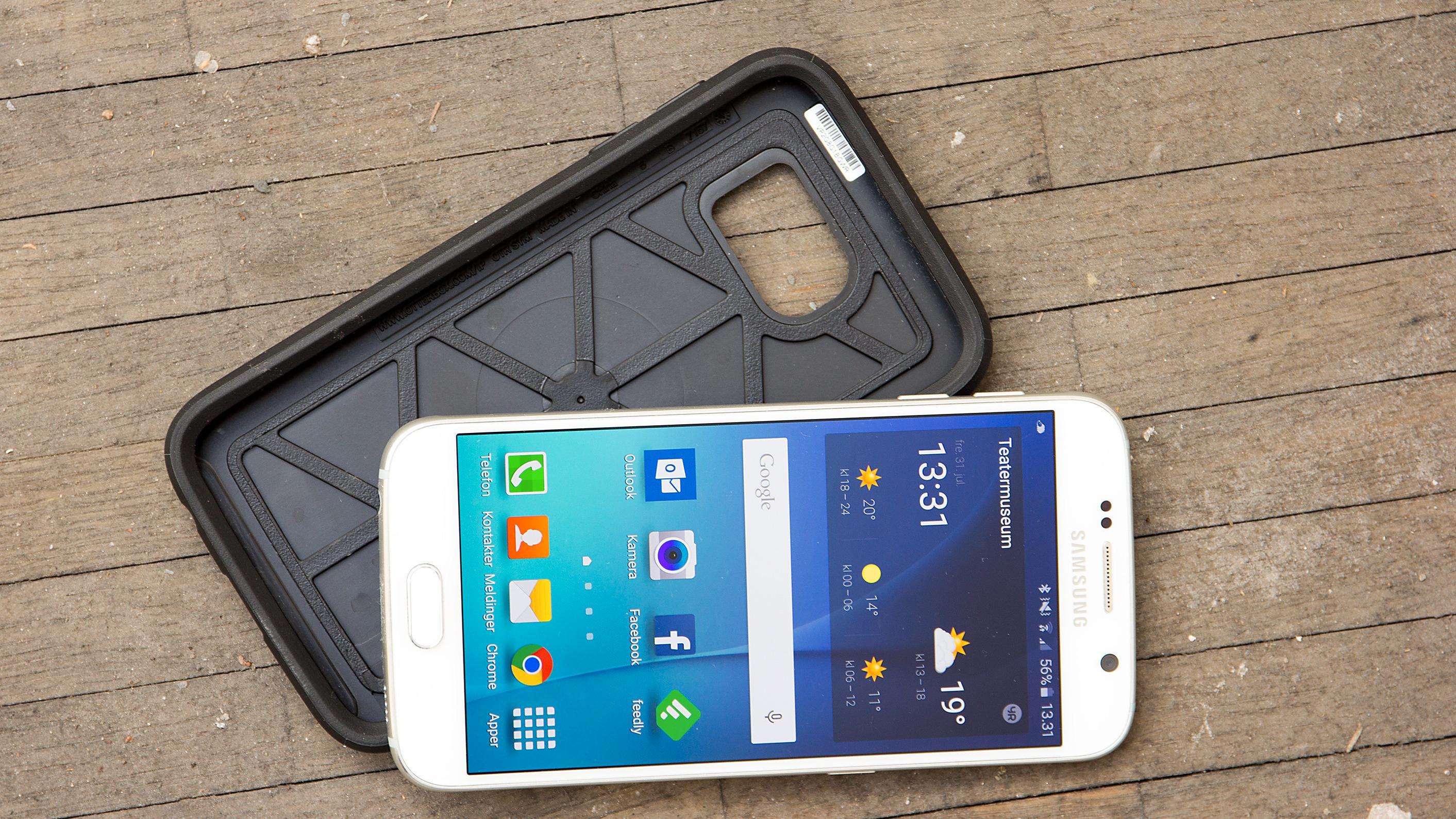Denne beskytter mobilen din når den går i bakken