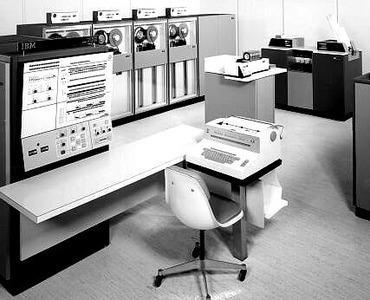 Det var to IBM-maskiner av denne typen NORSAR hadde koblet på nettet. Foto: IBM