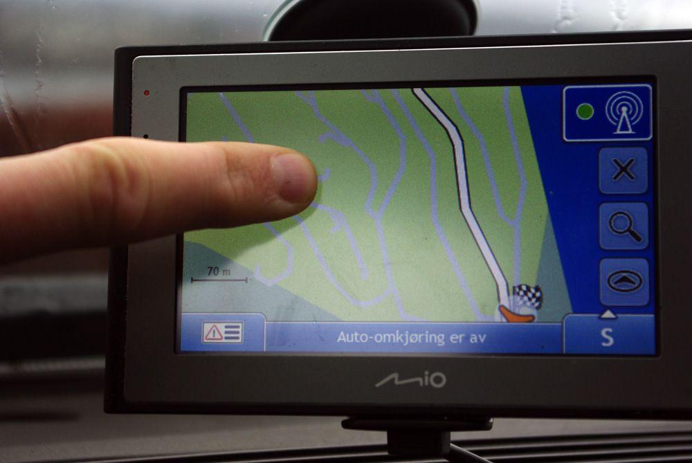 Du kan enkelt panorere og bla i kartene for å få oversikt.
