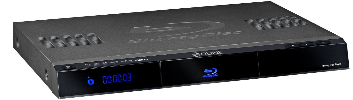 Mediaspiller med Blu-ray