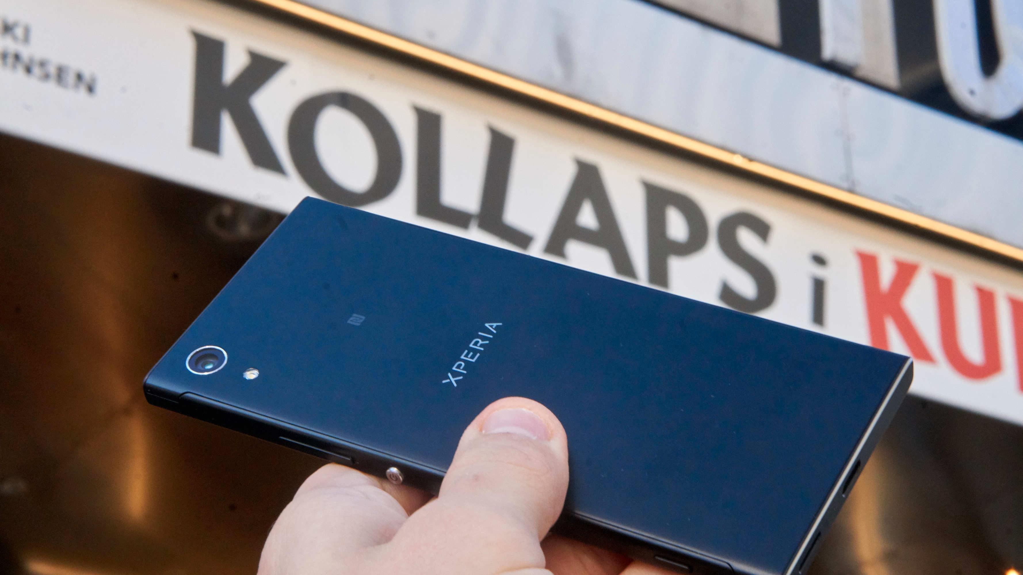 «Kollaps» beskriver Xperia XA1 godt på visse områder.
