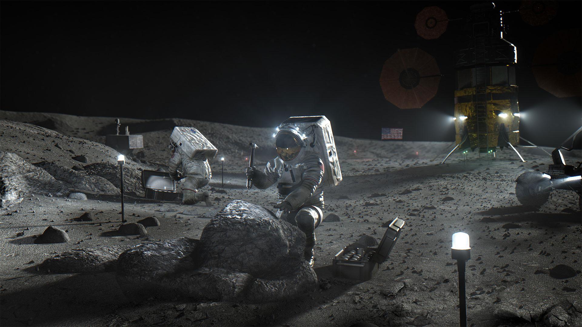 Nokia skal bygge 4G på månen