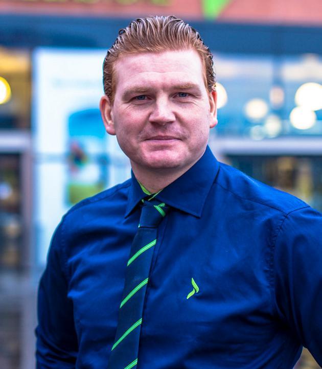 Øystein Andre Schmidt, Elkjøps kommunikasjonssjef.Foto: Elkjøp/Joakim Mangen