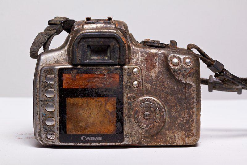 Baksiden av kameraet.Foto: Michael Corneau, All Rights Reserved