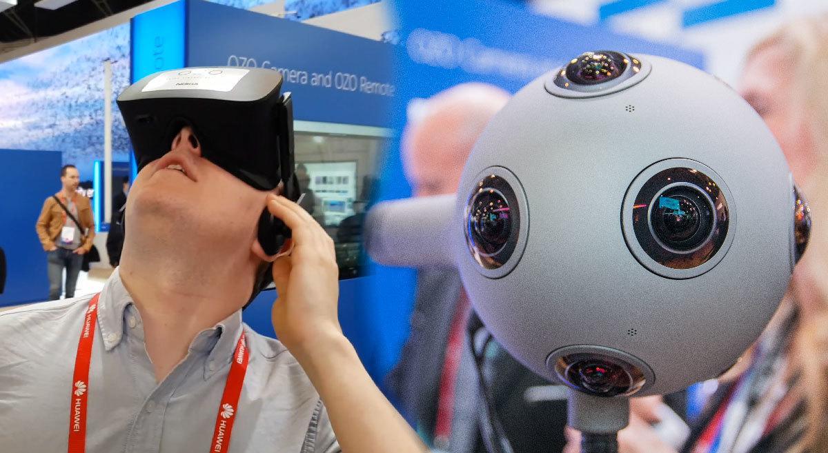 VR-kamera, kombinert med VR-briller, var en ganske rar opplevelse.