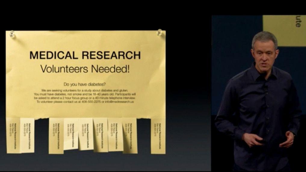 Apple vil gjøre det enklere for deg å delta i medisinsk forskning