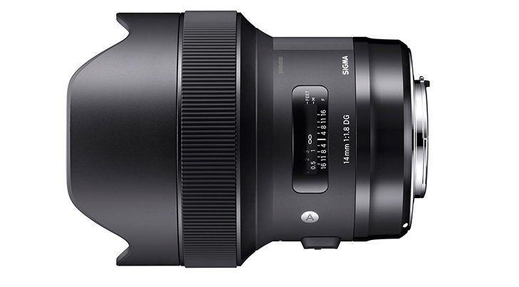 Sigma 14mm f/1.8.