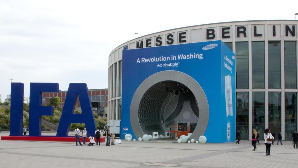IFA holdes i Berlin, og er en av verdens største og eldste dingsemesser. I september braker det løs igjen, og Sony og Samsung er blant produsentene vi venter store nyheter fra.Foto: Rolf B. Wegner, Hardware.no