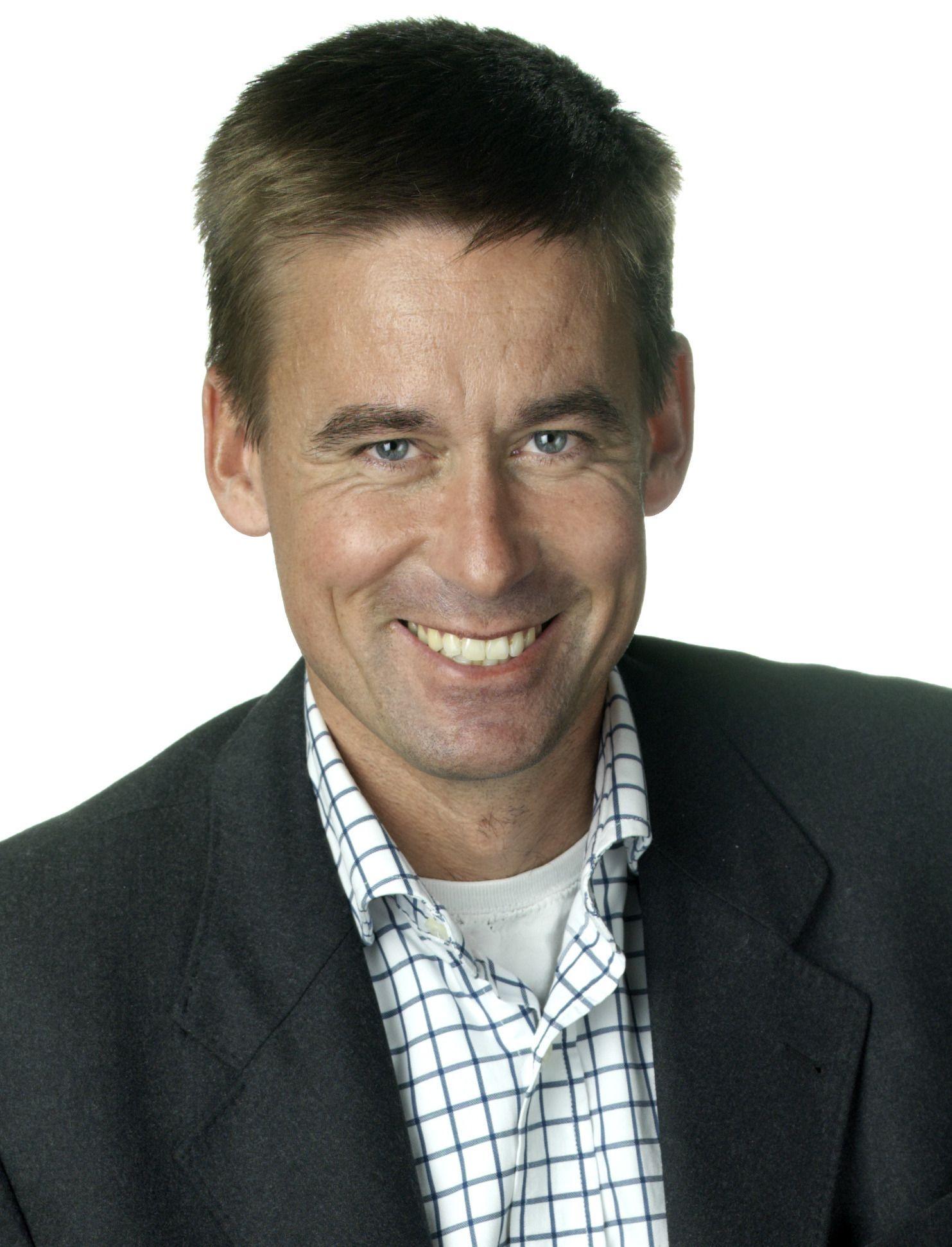 August Baumann, administrerende direktør i NetCom.Foto: NetCom