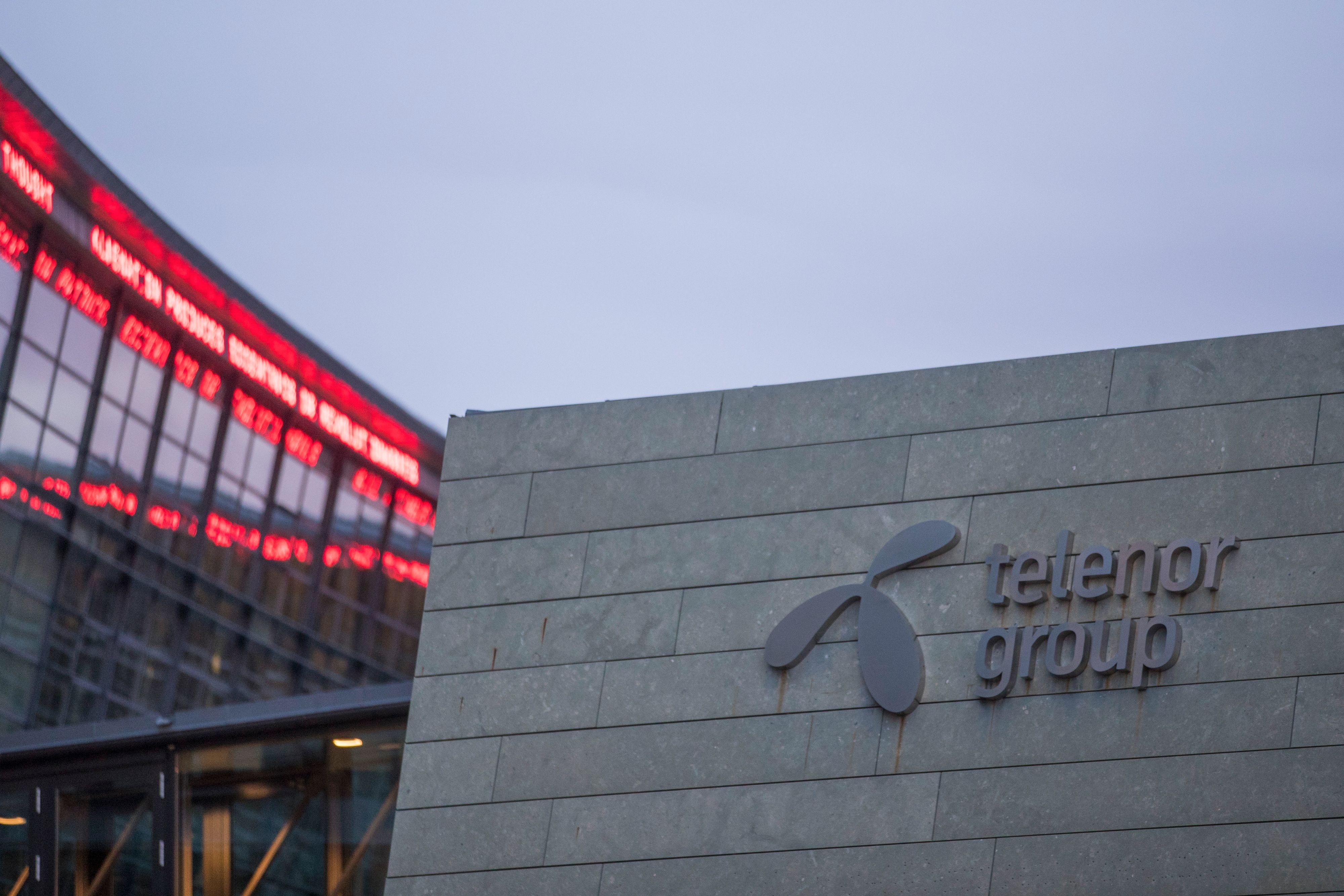 Telenors hovedkontor på Fornebu.