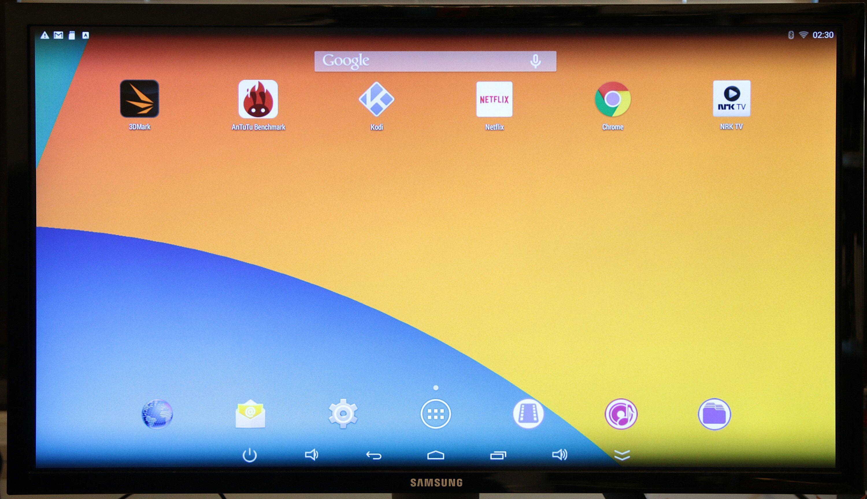 Android rett på 4K-monitoren vår.