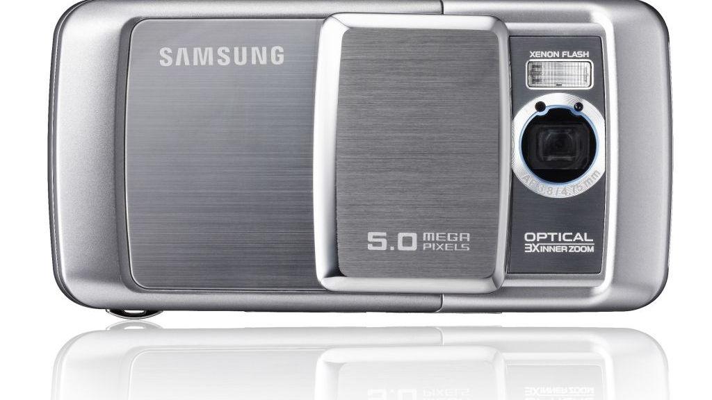 Samsung med 5 megapiksler og optisk zoom