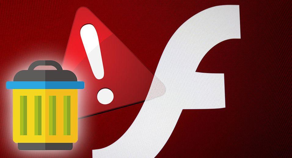 Slik fjerner du Flash og hindrer dataangrep mot maskinen din