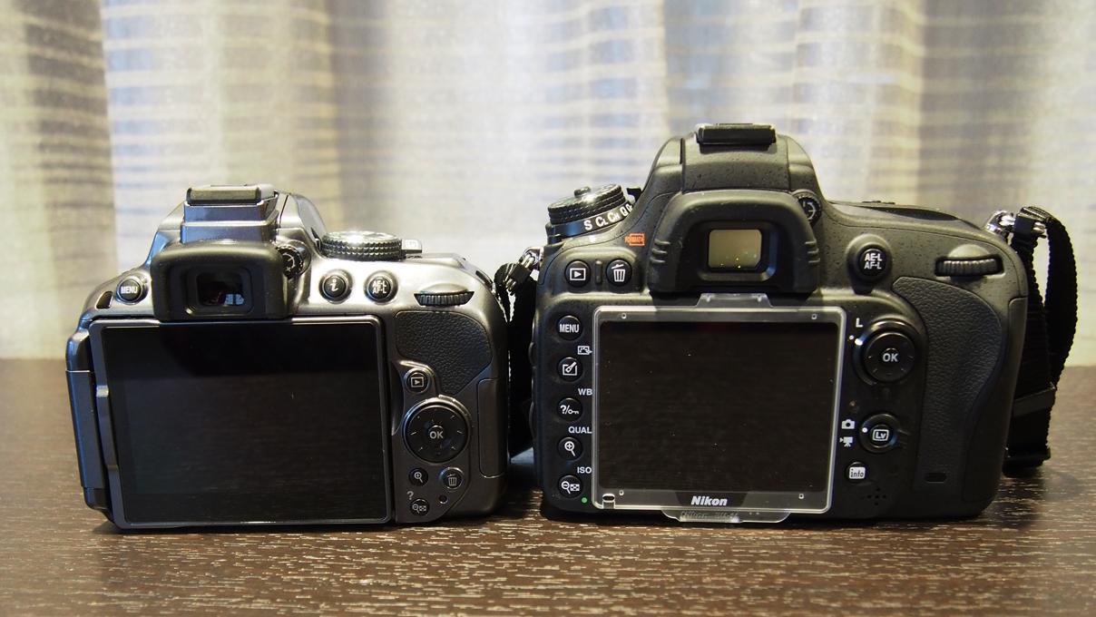 D5300 og store storebror D610.