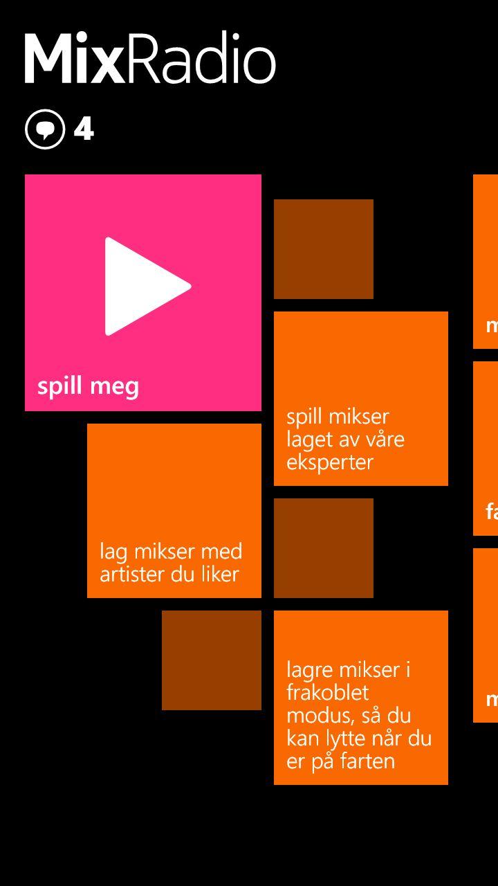 Vi kommer stadig tilbake til Nokia MixRadio, en av undertegnedes favorittfunksjoner i Lumia-serien.Foto: Finn Jarle Kvalheim, Tek.no