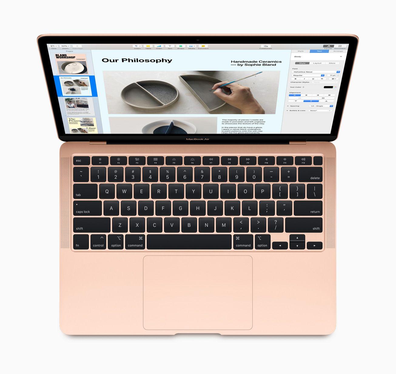 MacBook Air får Apples nye tastatur med «saksemekanismer». Vi testet det nylig på 16-tommers MacBook Pro og likte det veldig godt.
