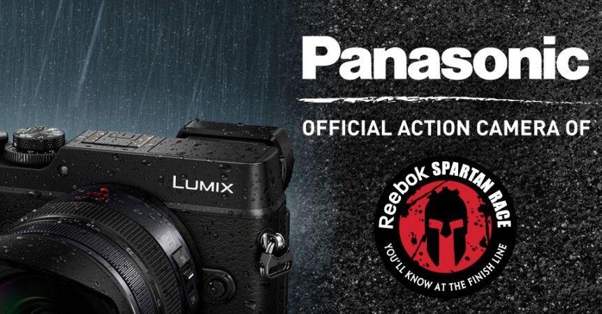 Hvordan bedre illustrere at GX8 er laget for tøffe forhold enn med å sponse det tøffe, våte, skitne og støvete hinderløpet Spartan Race? Foto: Panasonic/Spartan Race