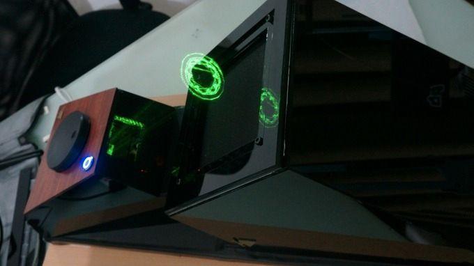 Her brukes løsningen til å visualere et 3D-skrevet objekt.