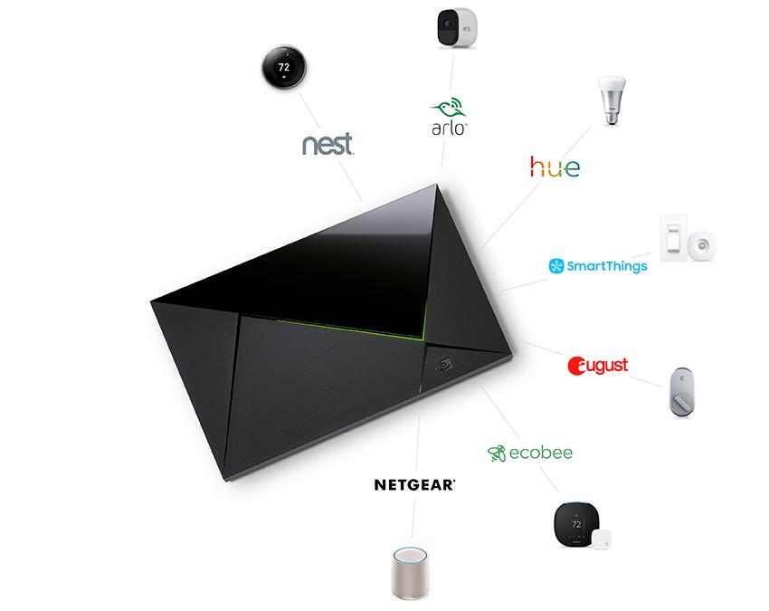 Med Google Assistant innebygget kan du bruke Shield TV som en smarthub i hjemmet.