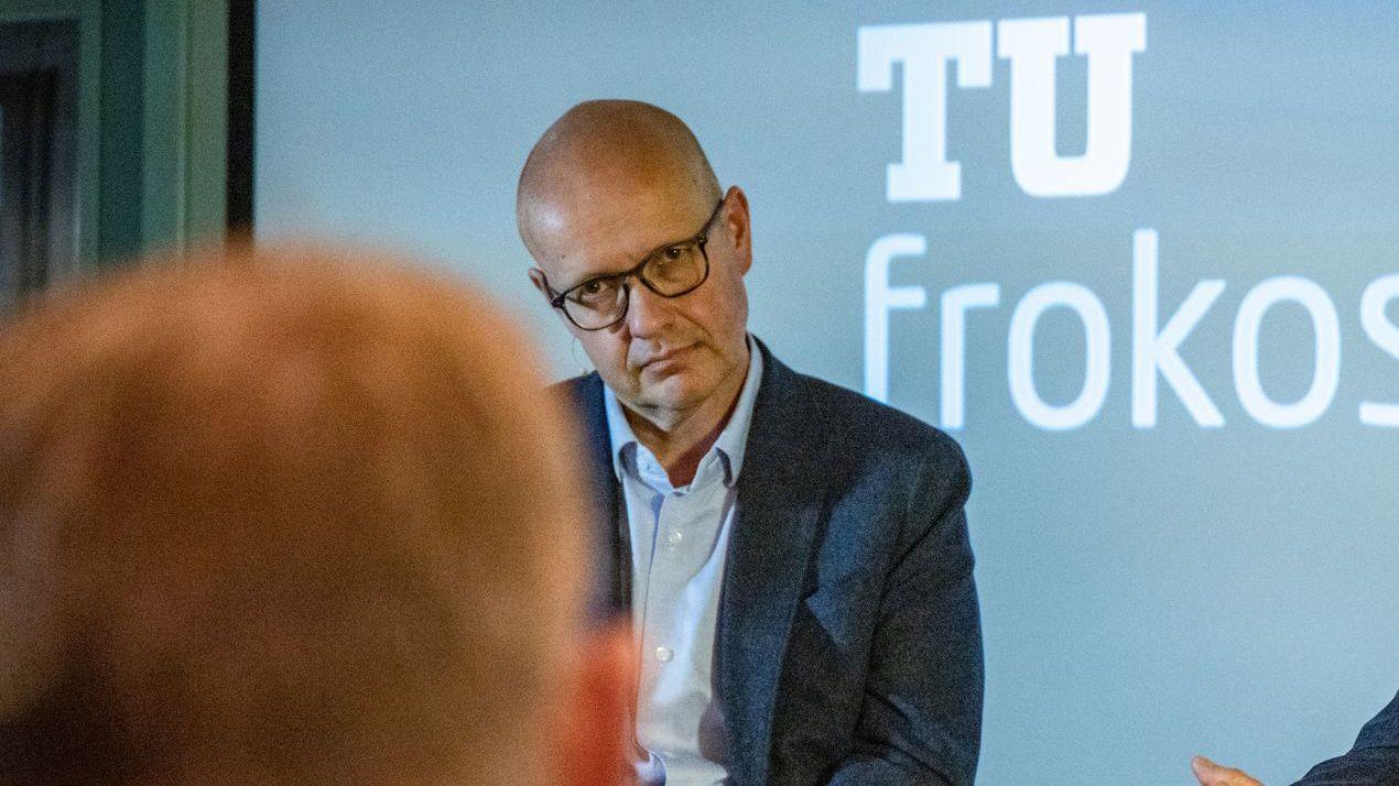 Simula-direktør Olav Lysne mener ingen ville tenkt over 3G-slukkingen om ikke det var for coronaviruset. Her fra en tidligere konferanse.