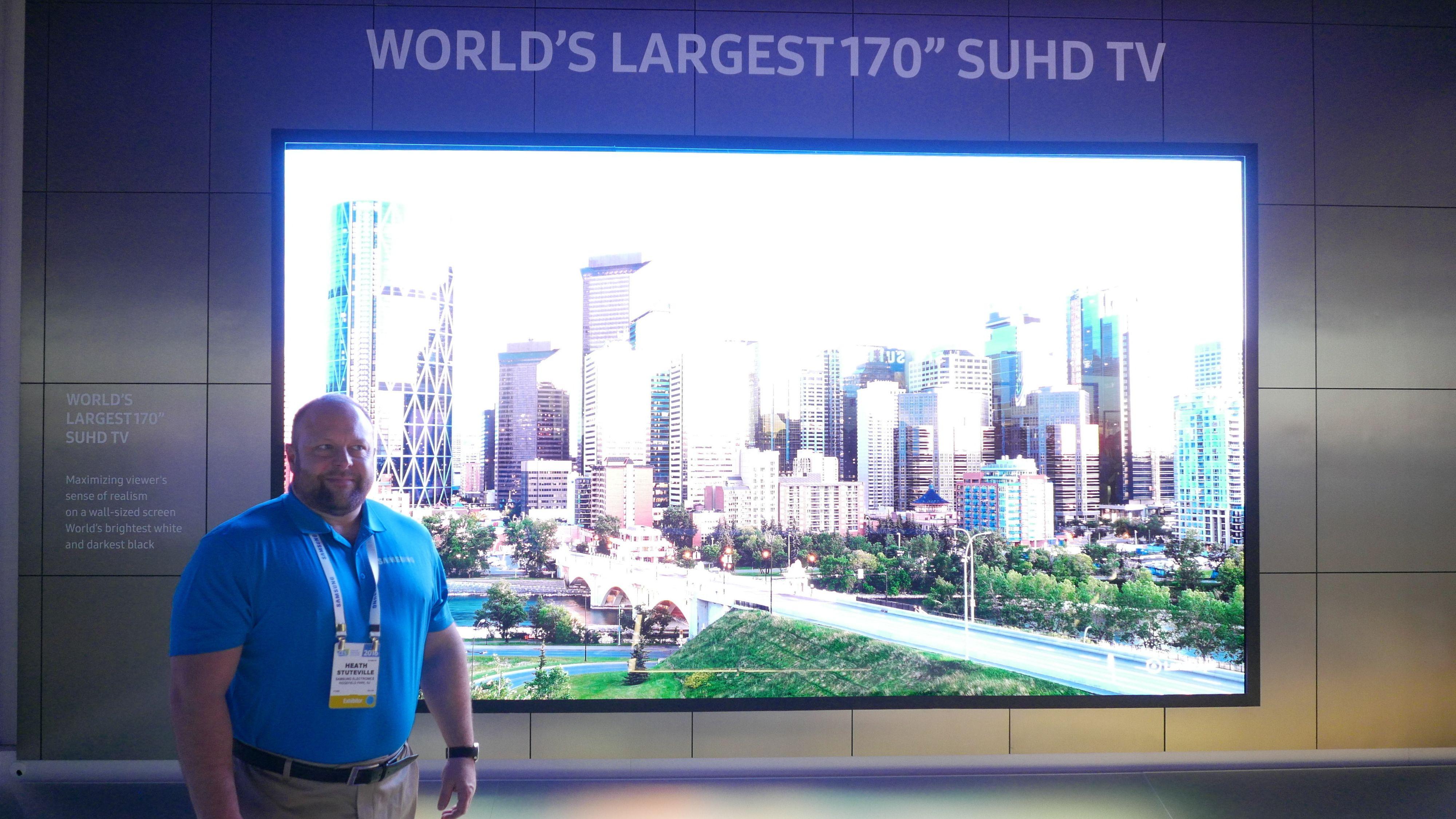 Dette er verdens største UHD-skjerm
