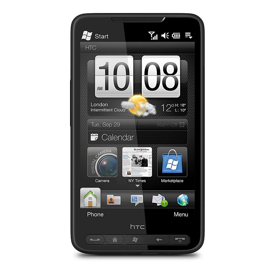 HTC HD2 var den første telefonen på det norske markedet med Snapdragon-prosessor.