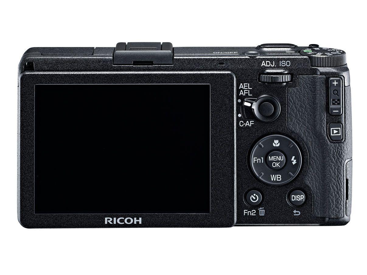 Ricoh GR får høyoppløst skjerm.Foto: Ricoh