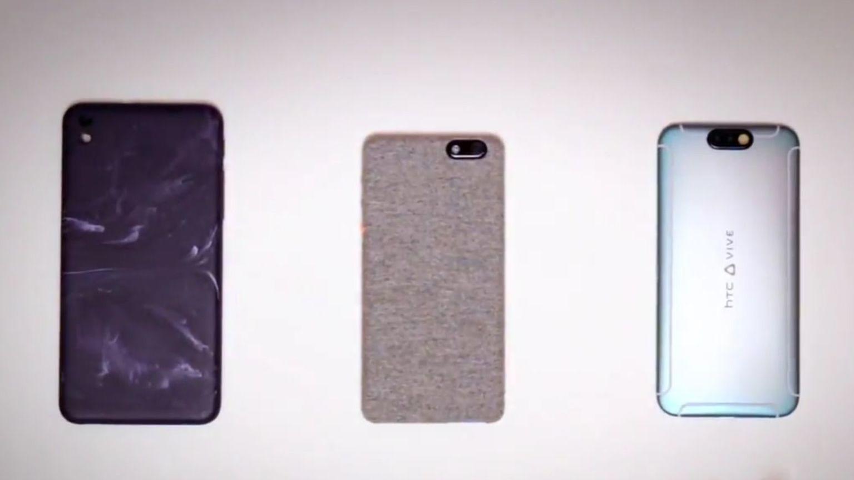 HTC jobber med eksperimentelle mobiler med sære materialer
