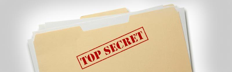 Stjal hemmelige dokumenter
