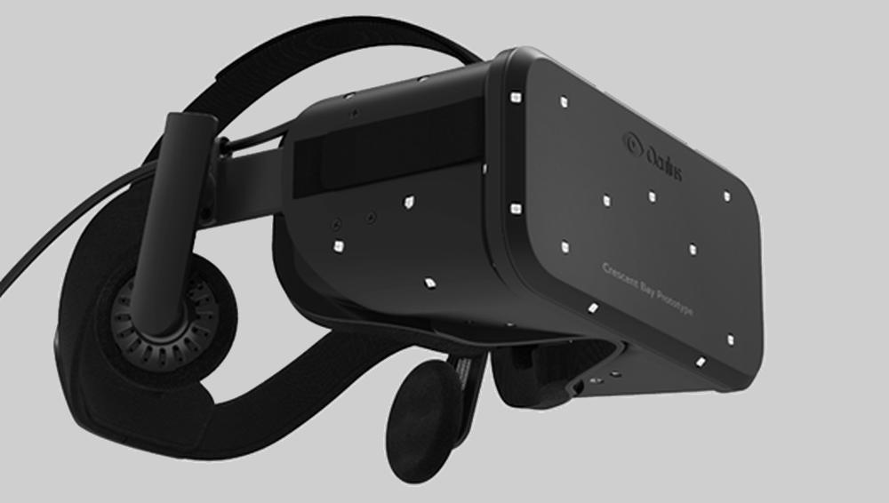 Den nye Oculus Rift «Crescent Bay»-prototypen lover svært godt.Foto: Oculus VR