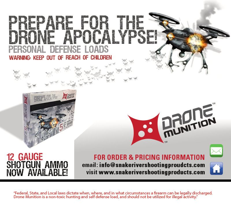 Det utvikles blant annet ammunisjon rettet mot nedskyting av droner. Om mannen i saken brukte slik ammunisjon er uvisst.