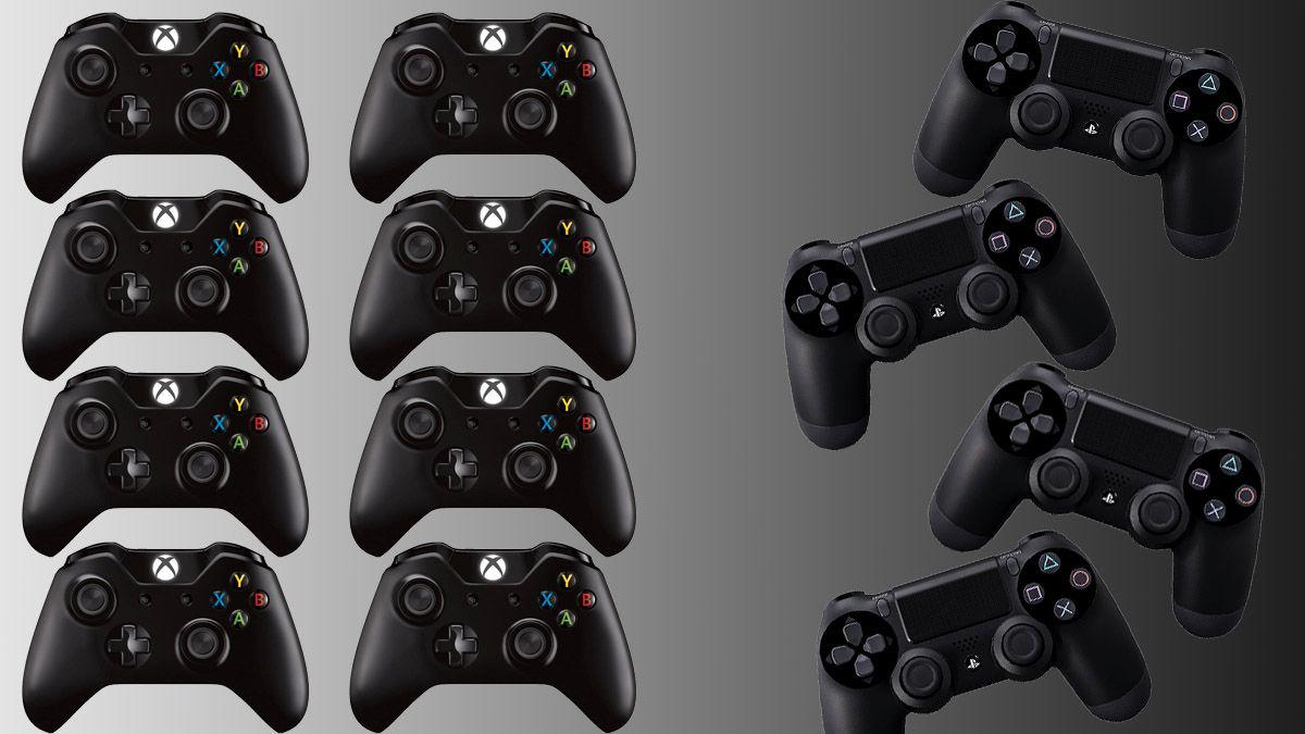 Xbox One vil støtte 8 kontrollere samtidig